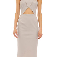 Strappy odyssey dress grey