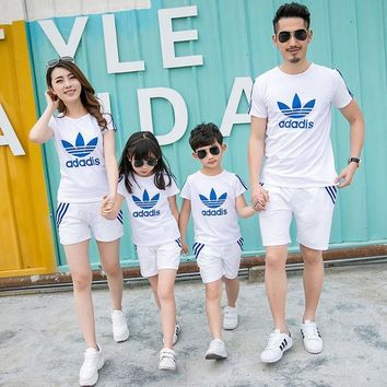 ESBON Family Matching Outfit Active Family Clothing Mother and Daughter Matching Clothes Father Son Clothes Family Clothing Sets HH08