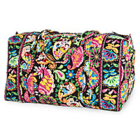 Midnight with Mickey Large Duffel Bag by Vera Bradley