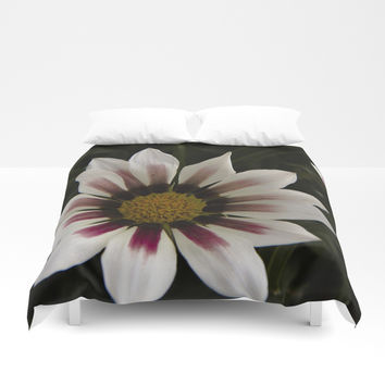 Flowers in summer Duvet Cover by VanessaGF