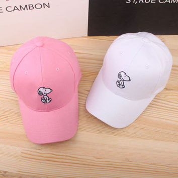 Snoopy Sport Casual Simple Hip-hop Baseball Cap