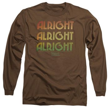 Dazed And Confused - Alright Z Long Sleeve Adult 18/1