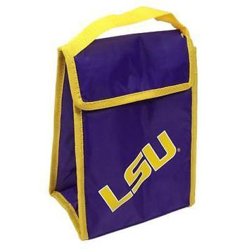 Licensed LSU Tigers Insulated Lunch Box Lunchbox Bag Louisiana State Team Beans KO_19_1
