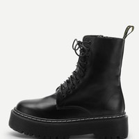 Daria Lace Up Boots