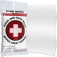 36 count Pure  Disinfecting Wipes for Hands and Face