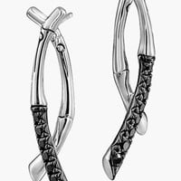 Women's John Hardy 'Bamboo - Lava' Sapphire Drop Earrings