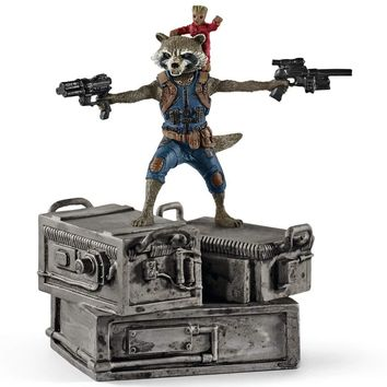 Schleich Marvel Guardians of the Galaxy Rocket & Groot Figurine