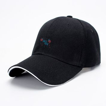 July 4Th, Independence Day Baseball Cap