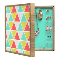 Allyson Johnson Summer Triangles BlingBox Petite
