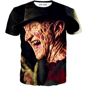 Freddy Kreuger Laughing T-Shirt