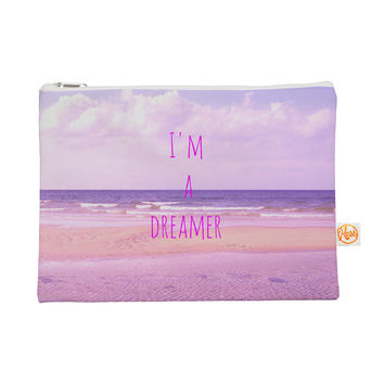 "Iris Lehnhardt ""I'm a Dreamer"" Beach Pink Everything Bag"