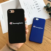 For iphone 5 5S SE phone cases Fashion champion hard plastic cover case Japan trend for iphone 6 X 6S plus 7 7plus 8 8plus cqoue