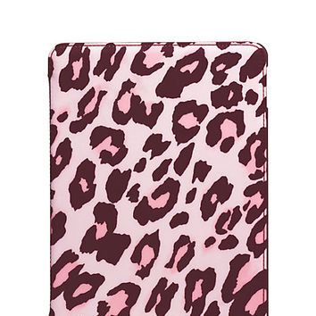 Kate Spade Cheetah Ipad Air 2 Folio Hardcase Pastry Pink ONE