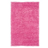 Ultra Plush Rug, Bright Pink