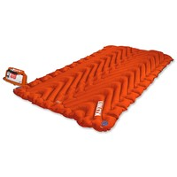 Klymit Insulated Double V Sleeping Pad for Two (New), Orange/Char Black
