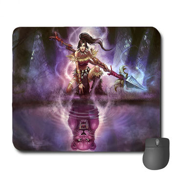 League Of Legends - Custom League Of Legends Mouse Pad Mousepad Nidalee