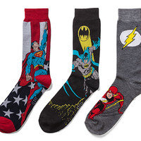 DC Superhero Crew Socks 2-pack