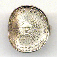 Argentina Coin Ring