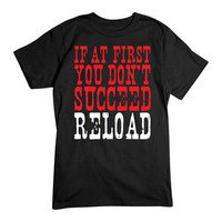 Men's First You Don't Succeed Black T-Shirt