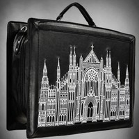 Gothic Cathedral Satchel Bag