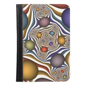 Flying Up, Colorful, Modern, Abstract Fractal Art iPad Mini Case