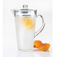9W x 9D x 10H Pitcher with Ice or Infusion Chamber