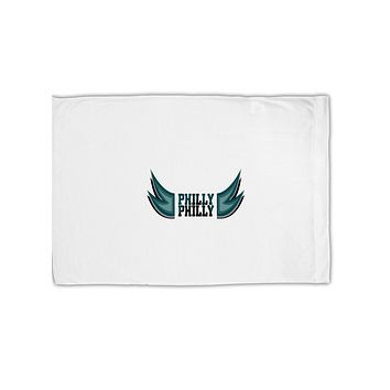 Philly Philly Funny Beer Drinking Standard Size Polyester Pillow Case by TooLoud