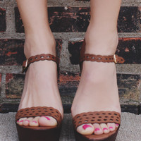 Resort Romance Wedge - Tan