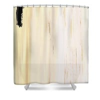 Modern Art - The Power Of One Panel 3 - Sharon Cummings Shower Curtain