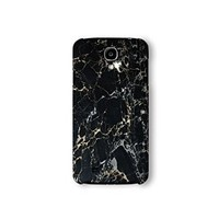 Samsung Galaxy S4 Case, Black Marble Print 3d-sublimated, Mobile Accessories Marble 04.