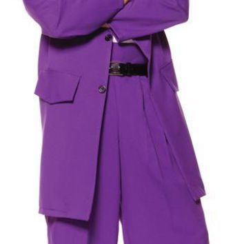 Zoot Suit Adult Purple Standard Costume