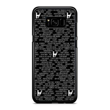 Twenty One Pilots Logo Samsung Galaxy S8 Case