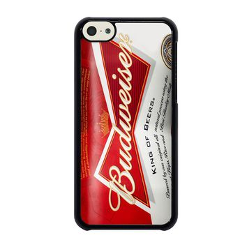 BUDWEISER CAN KING OF BEER iPhone 5C Case