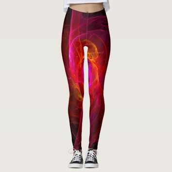 Fractal Art Leggings