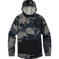 Burton: Caption Hoodie - Beetle Derby Camo Heather
