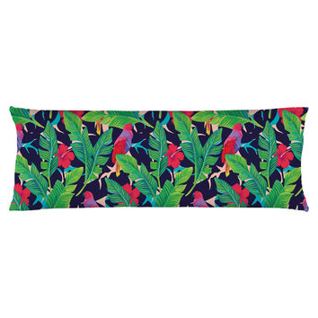 Hidden Parrots Body Pillow