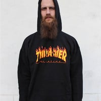 Aliexpress.com : Buy Thrasher Hoodie Men Streetwear Tracksuit Moletom Skate Sudaderas Mens Hoodies And Sweatshirt Magazine Skateboards Trasher Jumper from Reliable hoodies winter suppliers on Hong Kong Victoria Fashion Men Women