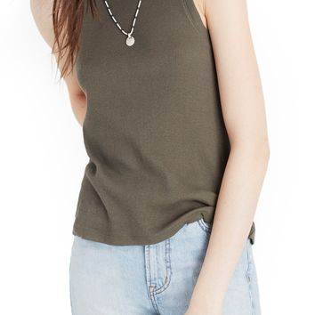 Madewell Circuit Ribbed Tank | Nordstrom