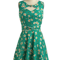 Good Ol' Daisy Dress | Mod Retro Vintage Printed Dresses | ModCloth.com