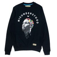 MISUNDERSTOOD #91 Black Crewneck