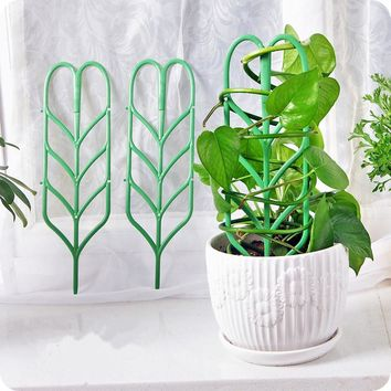 3pcs Plastic Plant Support - Flower Stand/Bonsai Support