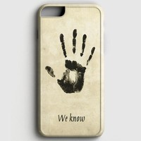 Skyrim Dark Brotherhood We Know iPhone 6/6S Case | casescraft
