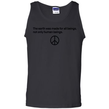 Earth Day T-Shirt - Peace Sign  Tank Top