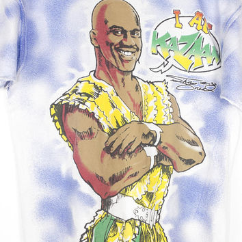 SHAQ KAZAAM all over print shirt - vintage 90s - movie