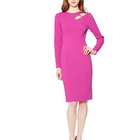 Raoul Salvador Asymmetrical Cutout Sheath Dress