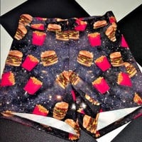 SWEET LORD O'MIGHTY! FASTFOOD HOE BOOTY SHORTS