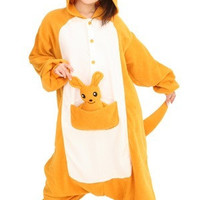 Kangaroo Animal Adult Kigurumi Onesuit