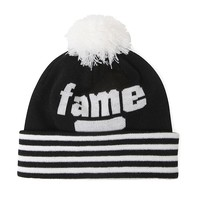 Hall of Fame Starks Beanie - Mens Hats - Black - One