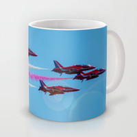 ARROWS IN FLIGHT Mug by catspaws