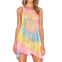 UNIF Wren Dress in Tie Dye